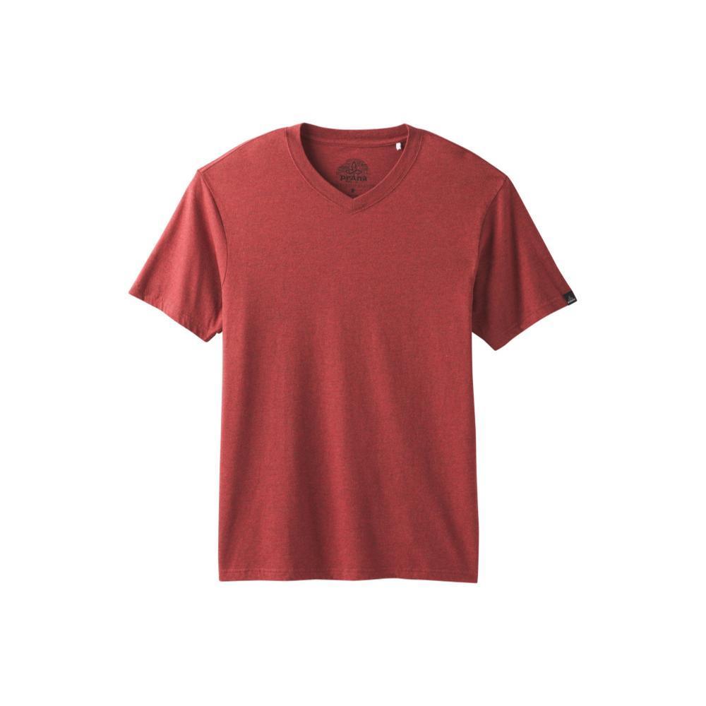 prAna Men's PrAna V-Neck T-Shirt MULLEDWINE
