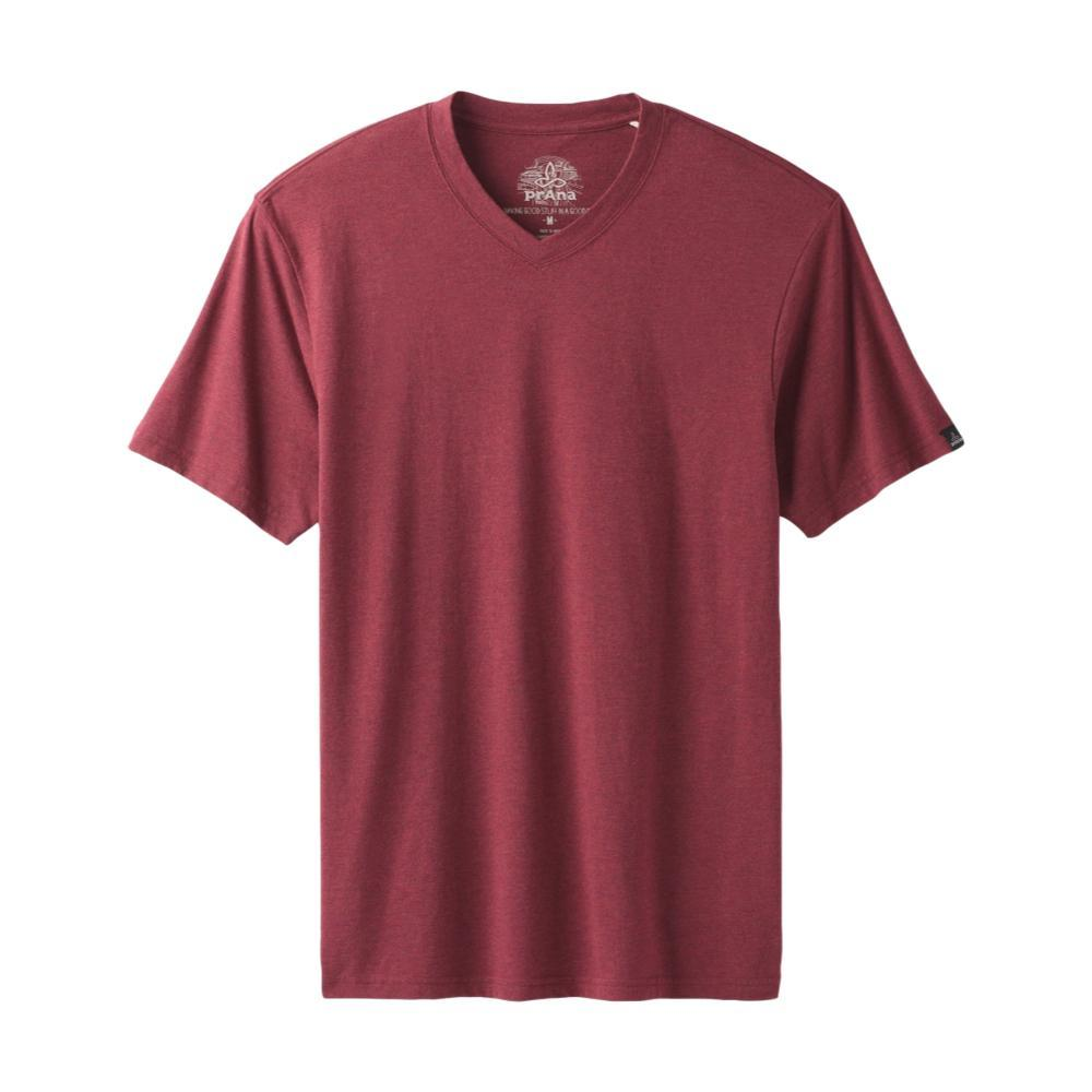 prAna Men's PrAna V-Neck T-Shirt RUSTEDHTHR