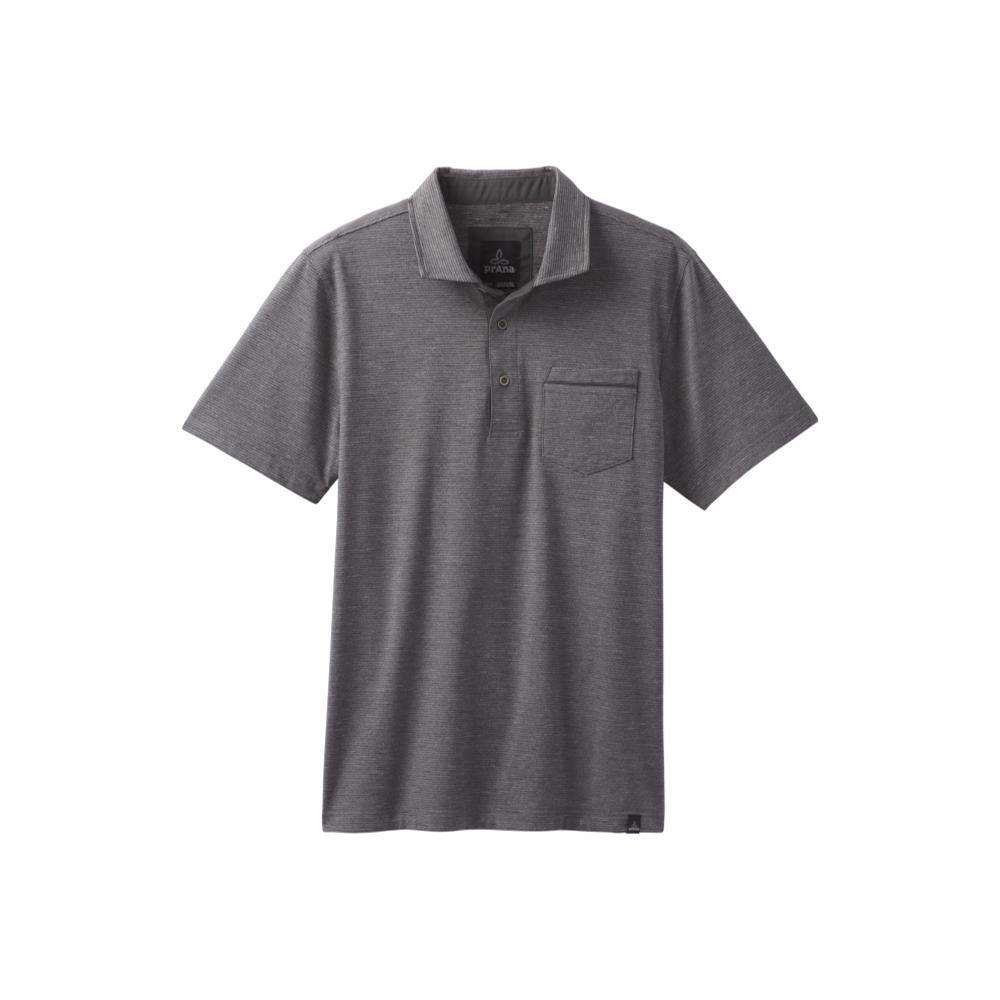 prAna Men's Pacer Polo CHARCOAL