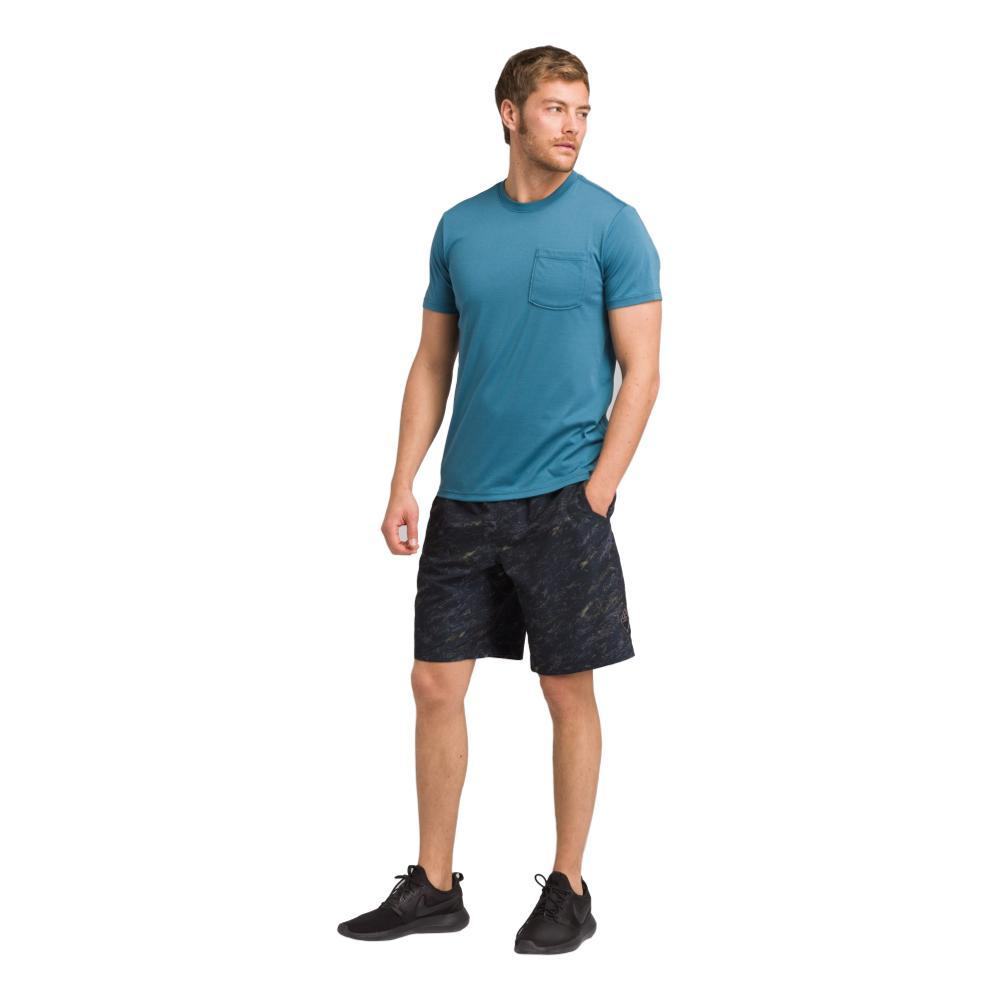 prAna Men's Mojo Shorts BLKTIDE