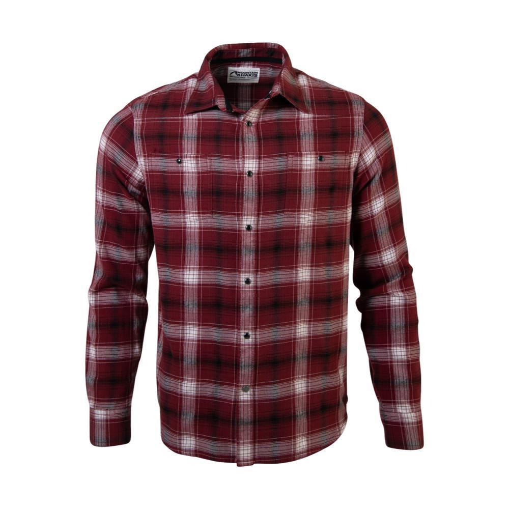 Mountain Khakis Men's Saloon Flannel Shirt MALBEC