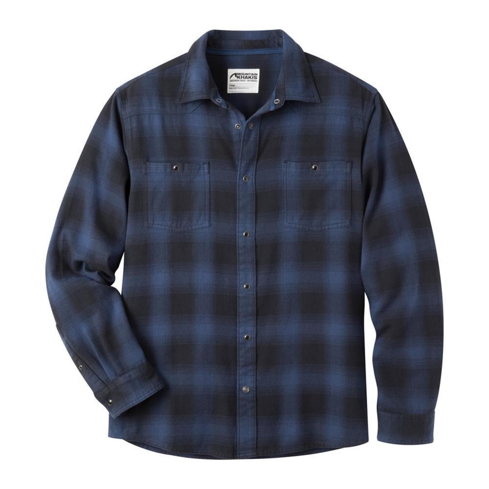 Mountain Khakis Men's Saloon Flannel Shirt TWILIGHT