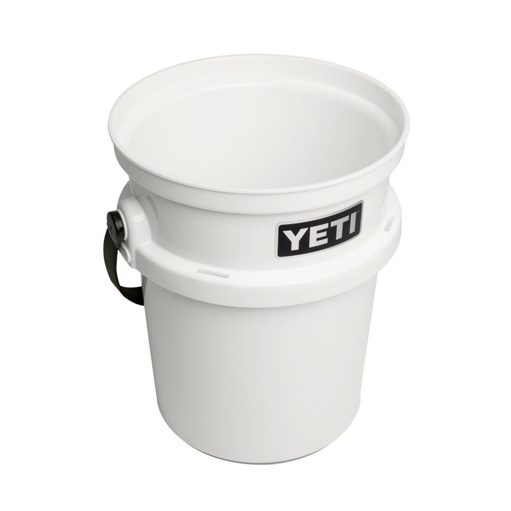 YETI LoadOut 5-Gallon Bucket WHITE