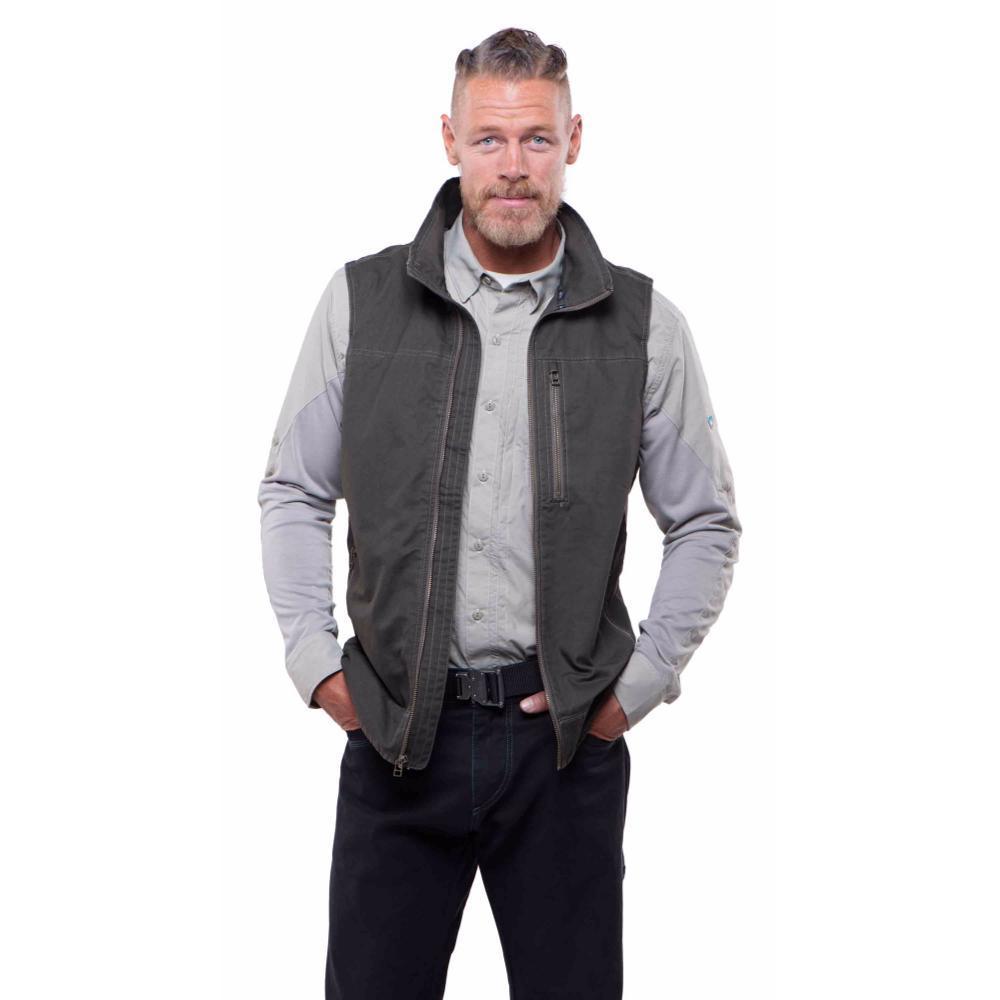KUHL Men's Burr Vest GUNMETAL