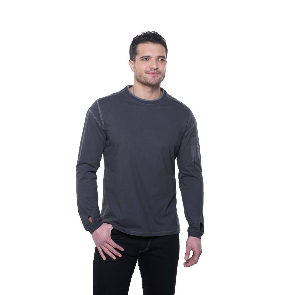 Kuhl Men's Kommando Crew Shirt CARBON