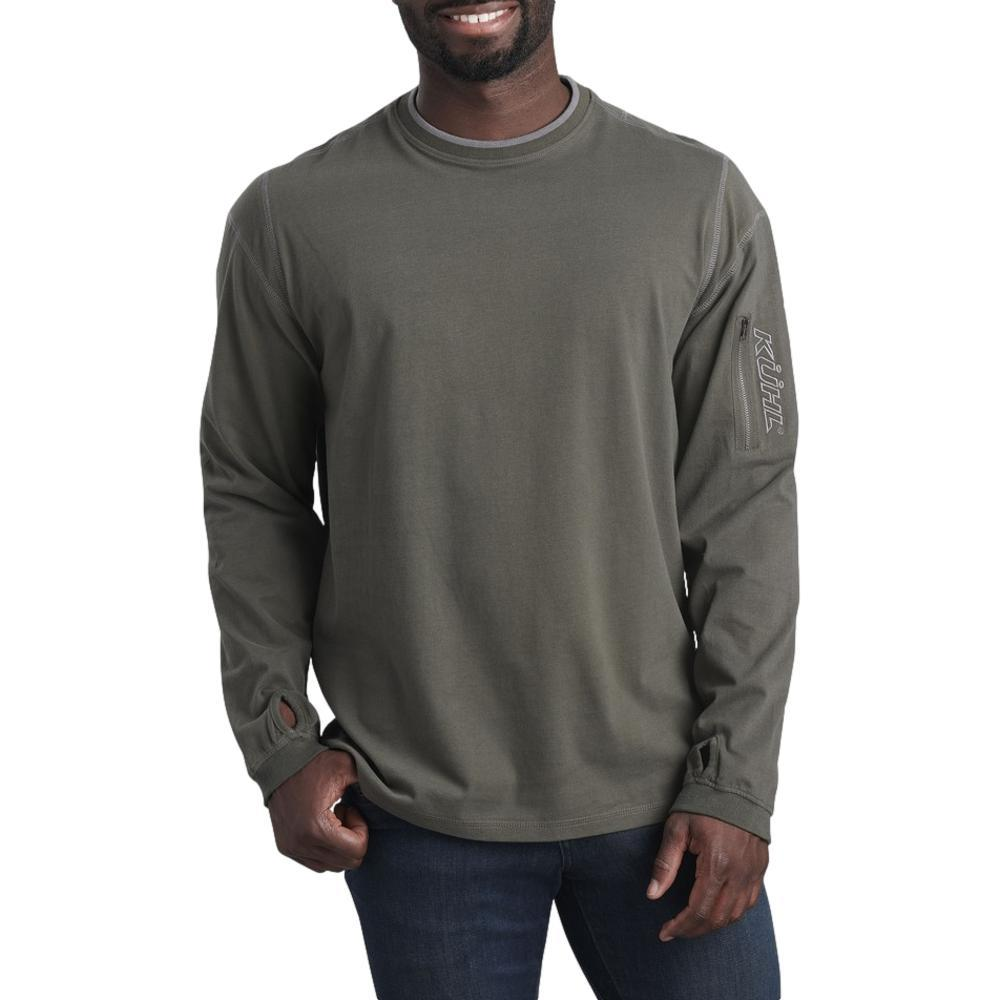 Kuhl Men's Kommando Crew Shirt OLIVESLATE