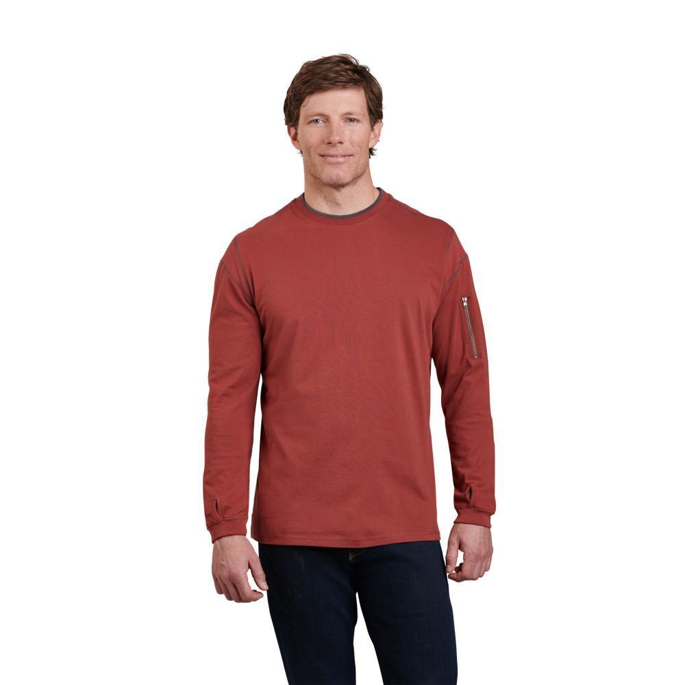 Kuhl Men's Kommando Crew Shirt TOMATO