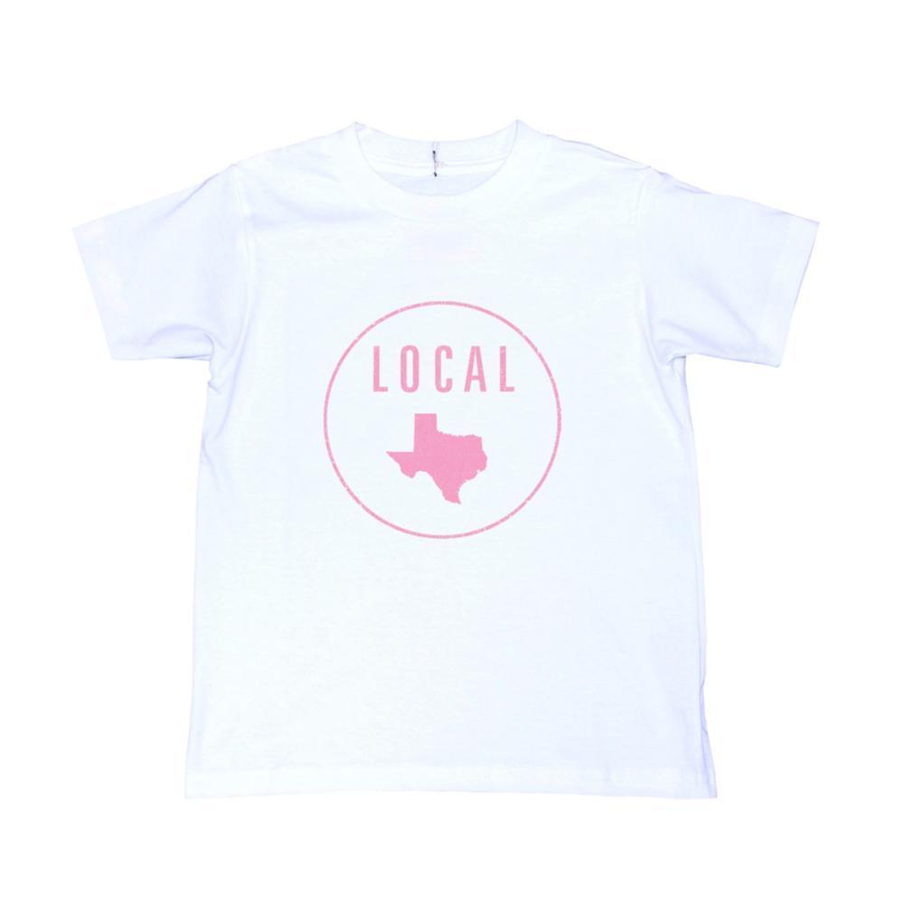 Locally Grown Kids Texas Local Tee VINTWHT