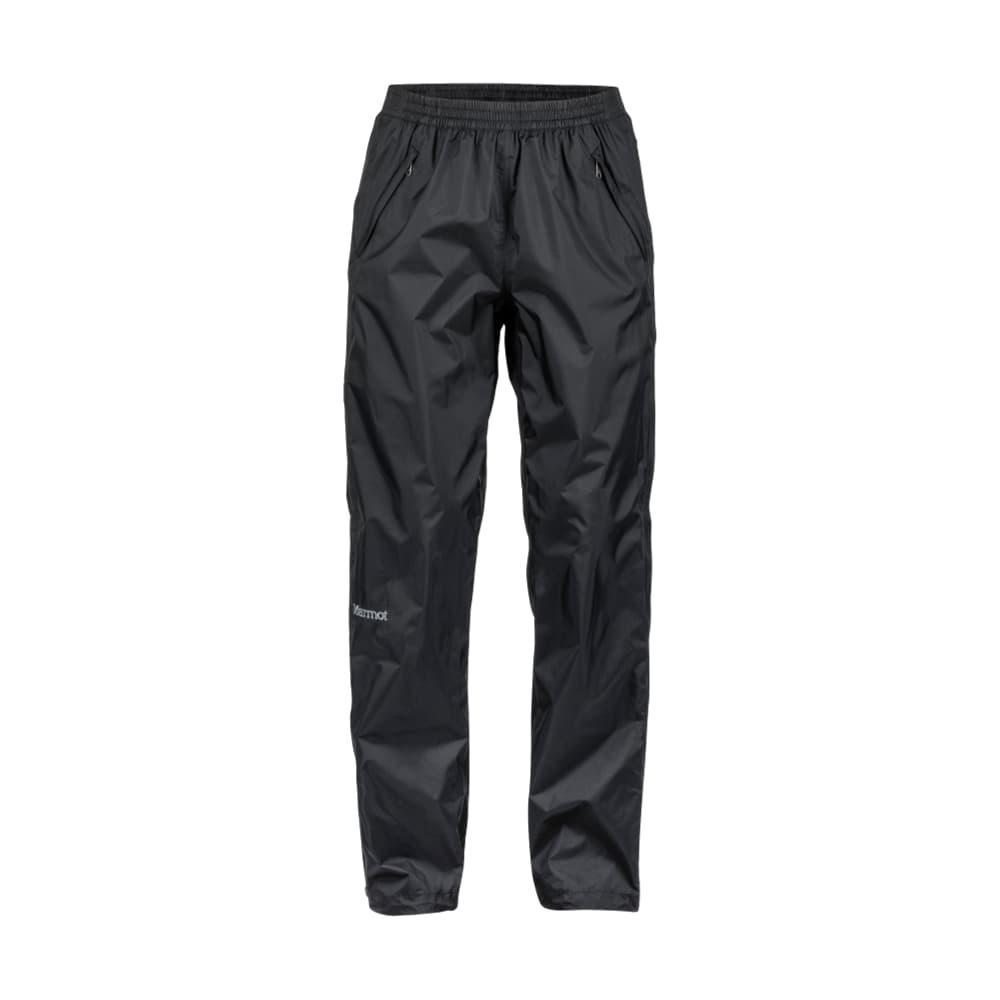 Marmot Women's Precip Full Zip Pant - Short BLACK_001
