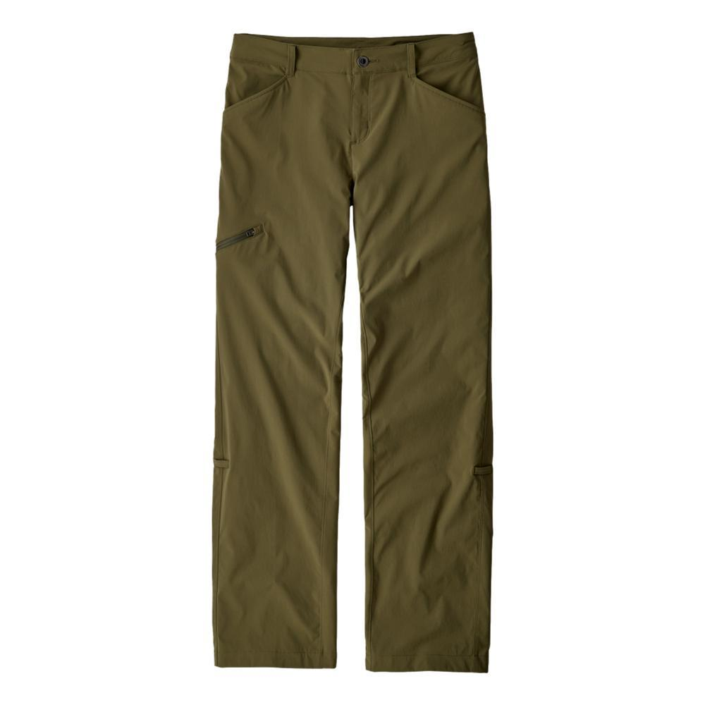 Patagonia Women's Quandary Pants - Short 30in Inseam GREEN_FTGN