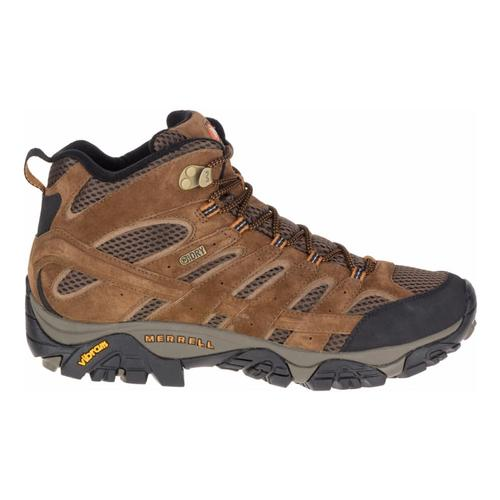 Merrell Men's Moab 2 Mid Waterproof Hiking Boots Earth