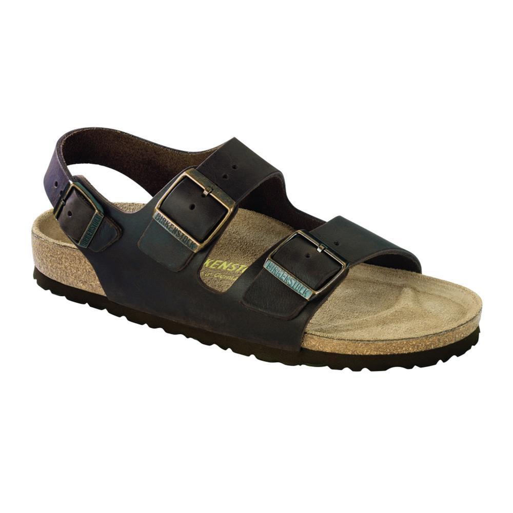 Birkenstock Men's Milano Oiled Leather Sandals - Regular HABANA