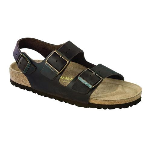 Birkenstock Men's Milano Oiled Leather Sandals Habana