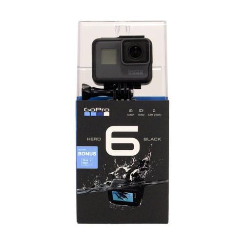 GoPro HERO 6 Black 32GB Card Bundle Black