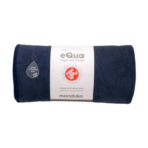 Manduka eQua Yoga Towel - Midnight Midnight