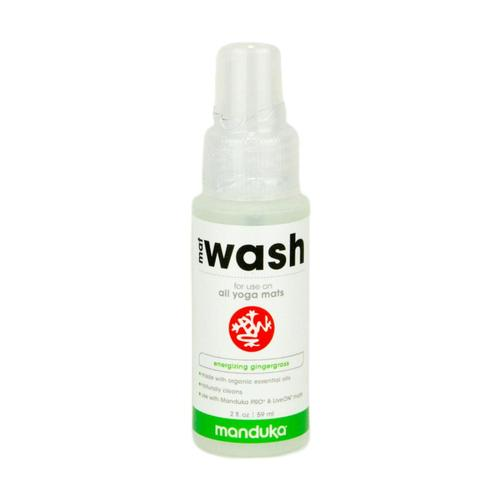 Manduka Mat Wash Travel Spray - Gingergrass 2oz Gingergrass