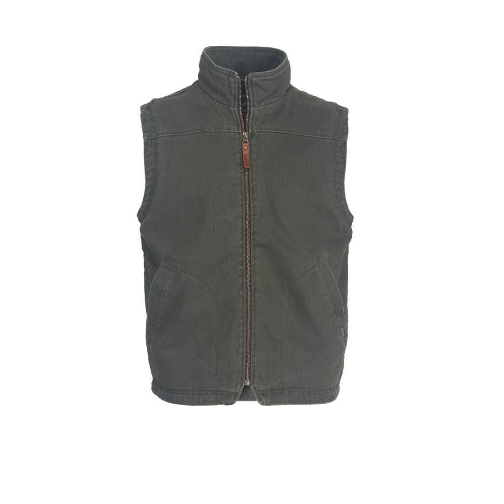 Woolrich Men's Dorrington II Barn Vest ASPHALT