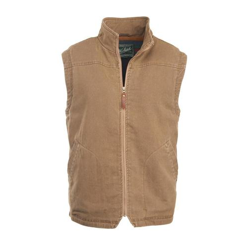 Woolrich Men's Dorrington II Barn Vest Sediment