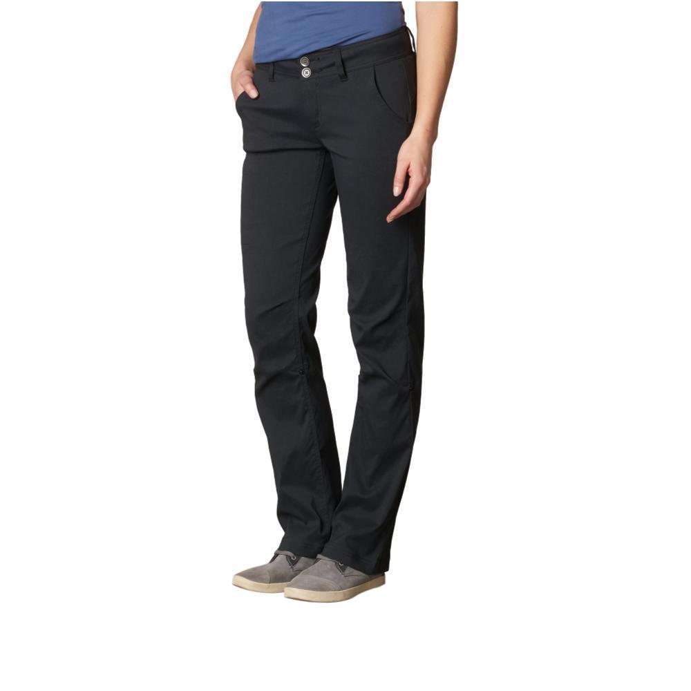 prAna Women's Halle Pants - Short 32in Inseam BLACK
