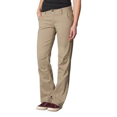 prAna Women's Halle Pants - Short 32in Inseam Dkkhaki