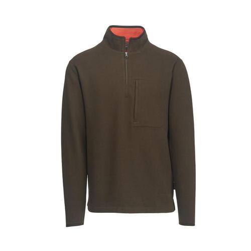 Woolrich Men's Boysen Half Zip Pullover Sweater Fleece II Dkloden
