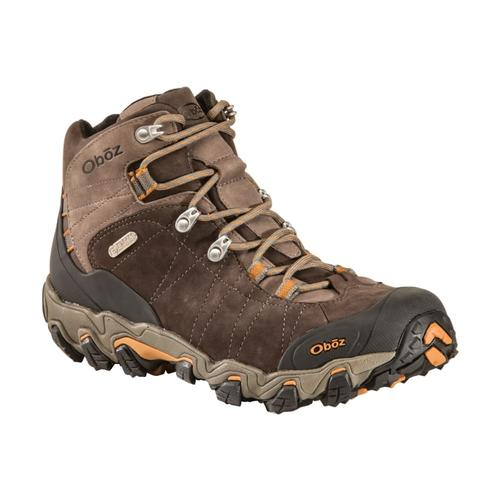 Oboz Men's Bridger Mid Waterproof Wide Boots Sudan
