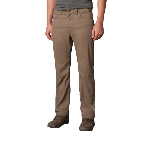 prAna Men's Brion Pants - 32in Inseam Mud
