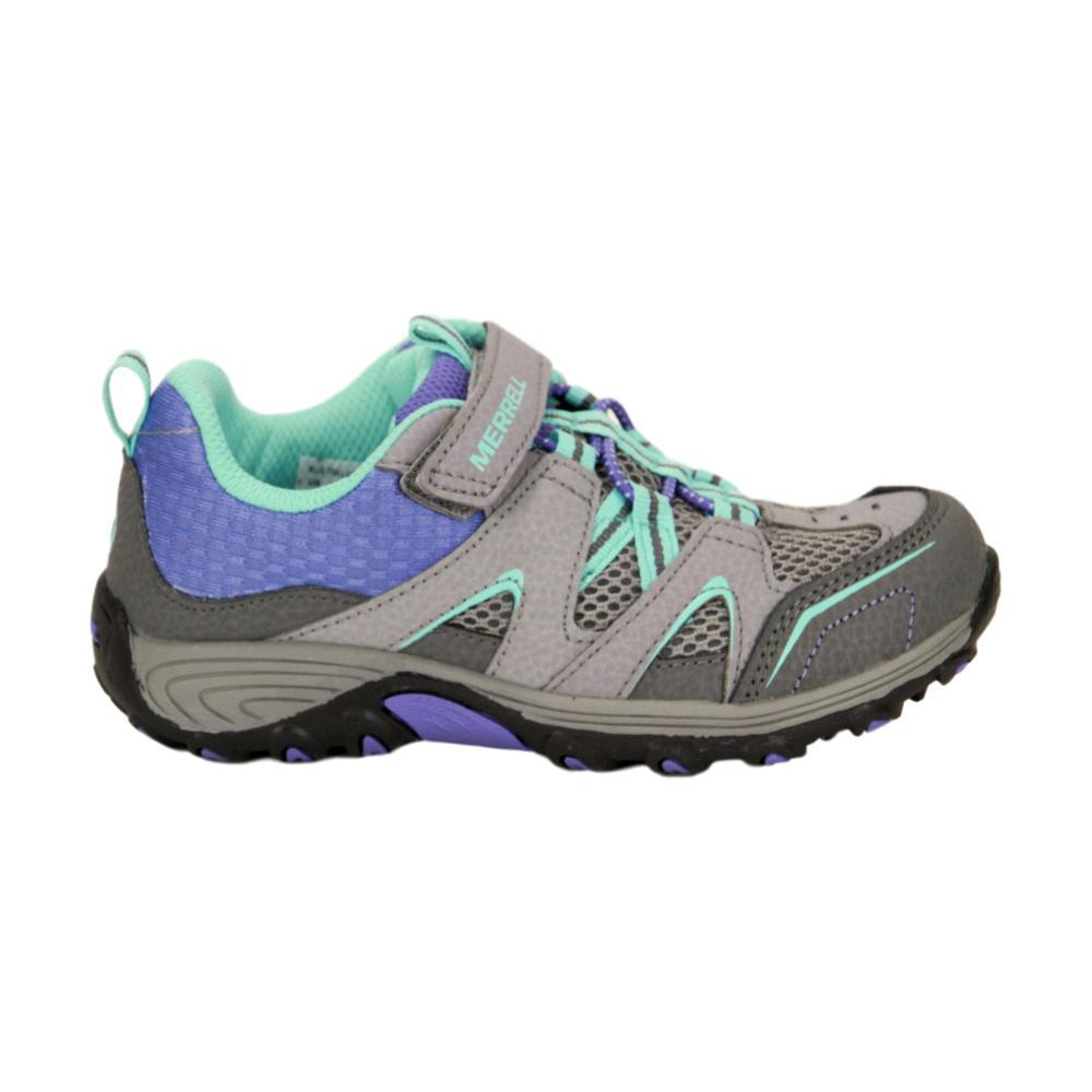Merrell Little Kids Trail Chaser Shoes GREY_MULT