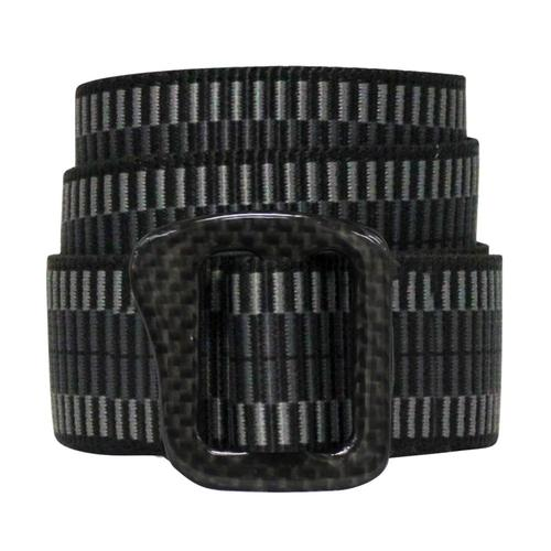 Bison Designs Carbonator Buckle Pattern Belt 30mm Ldr.Lck.Char