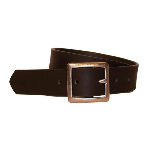 Bison Designs Standard Leather Belt 30mm Brown
