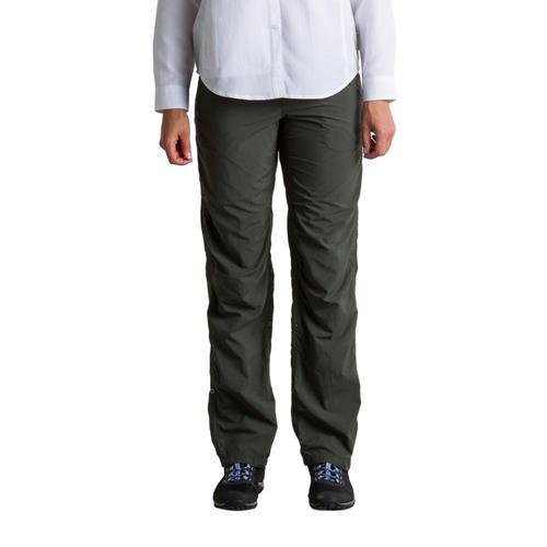 ExOfficio Women's BugsAway Damselfly Pants - 32in Inseam Nori