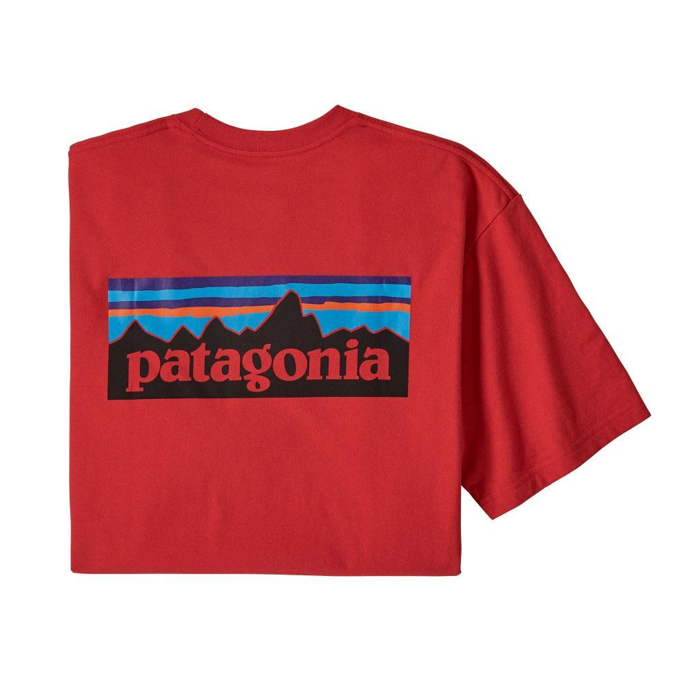 Patagonia Men's P-6 Logo Responsibili-Tee FRE