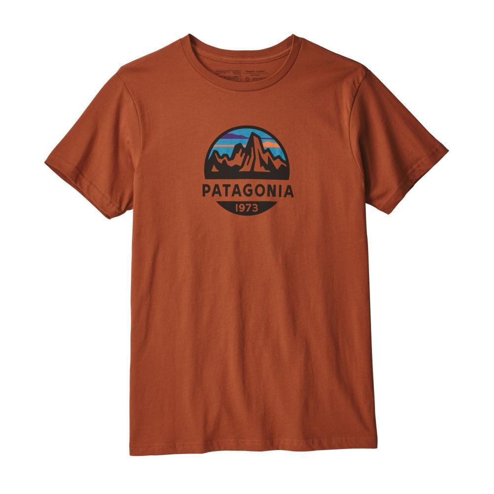 Patagonia Men's Fitz Roy Scope Organic T-Shirt COPPER_CPOR