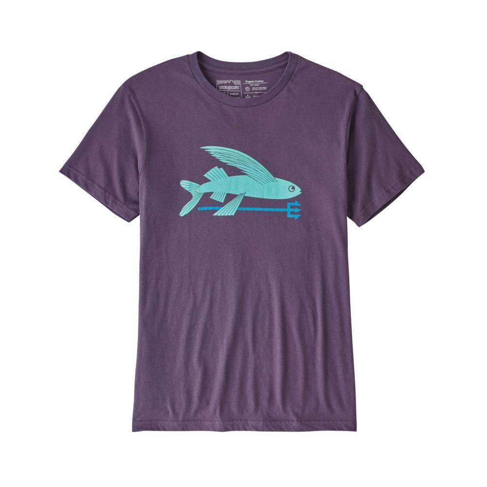 Patagonia Men's Flying Fish Organic T-Shirt PPURPL_PTPL