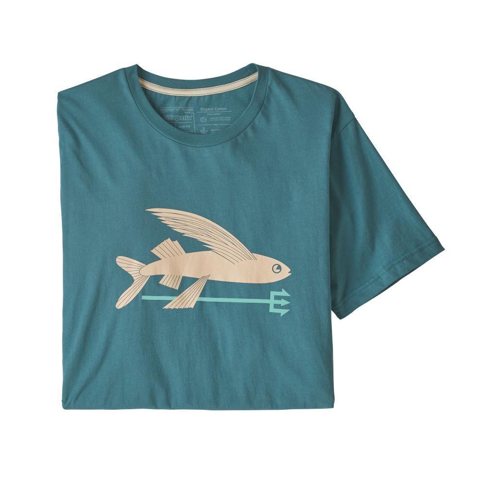 Patagonia Men's Flying Fish Organic T-Shirt TATE