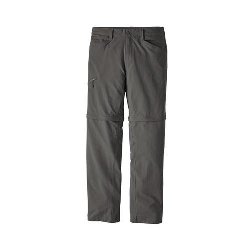 Patagonia Men's Quandary Convertible Pants Grey_fge