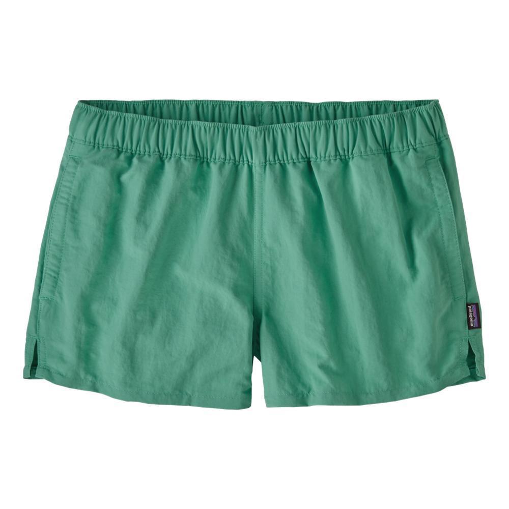 Patagonia Women's Barely Baggies Shorts - 2.5in GREEN_LBYG