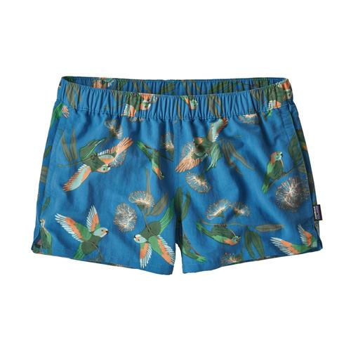 Patagonia Women's Barely Baggies Shorts - 2.5in Papb_blue