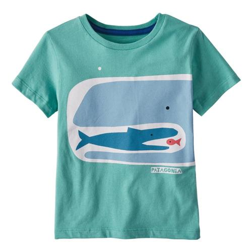 Patagonia Infant Baby Graphic Organic T-Shirt Green_ffcg