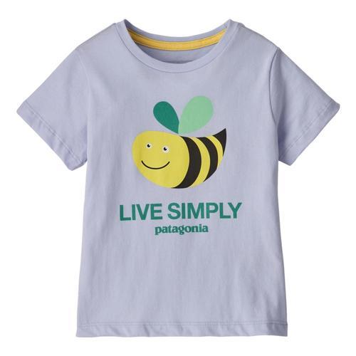 Patagonia Baby Live Simply Organic T-Shirt Bluga_lscb