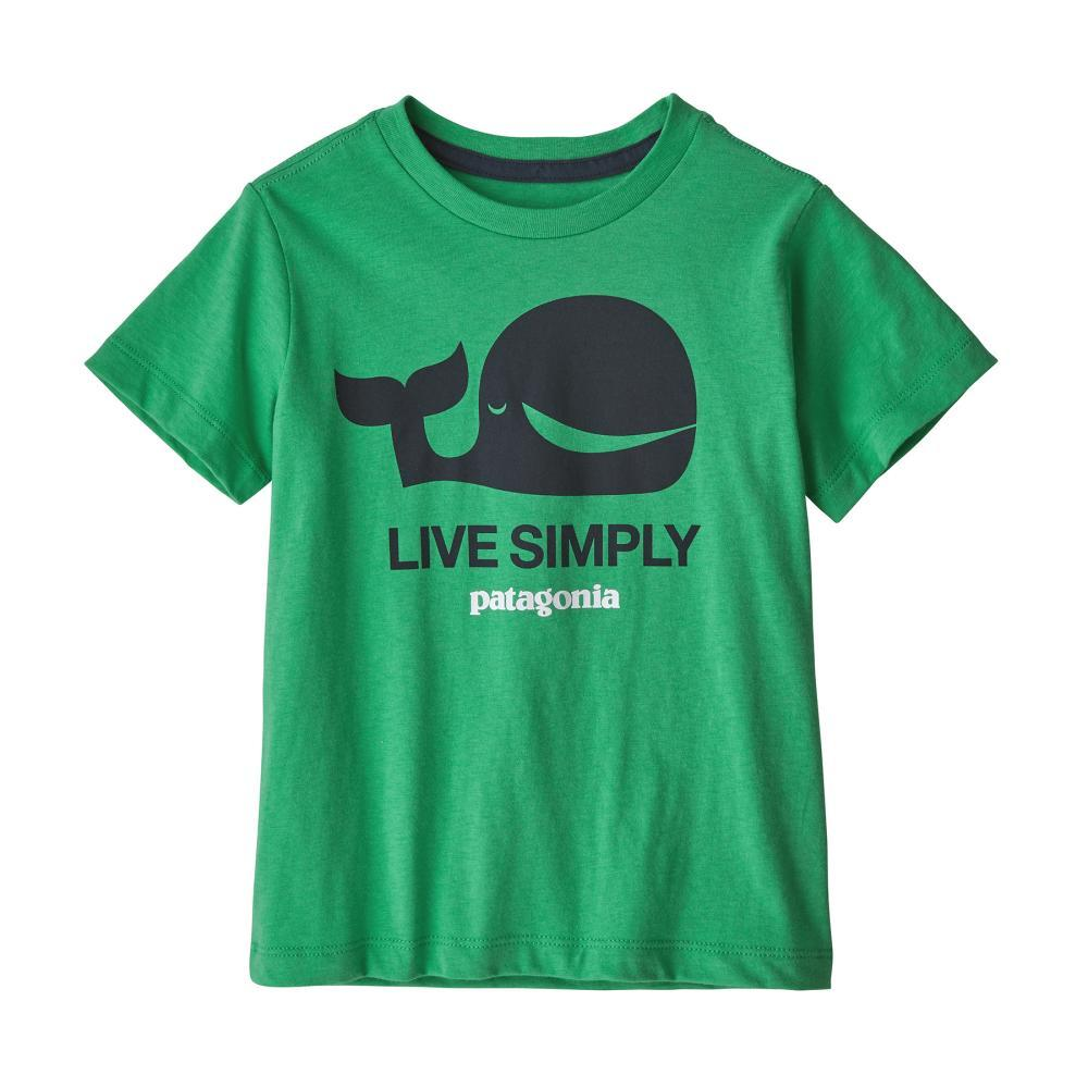 Patagonia Baby Live Simply Organic T-Shirt GREEN_LSNE