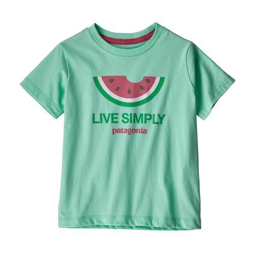 Patagonia Baby Live Simply Organic T-Shirt Meln_lsvg