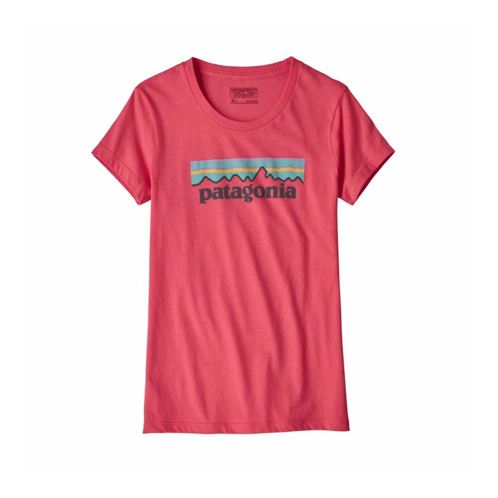 Patagonia Girls Pastel P- 6 Logo Organic T- Shirt