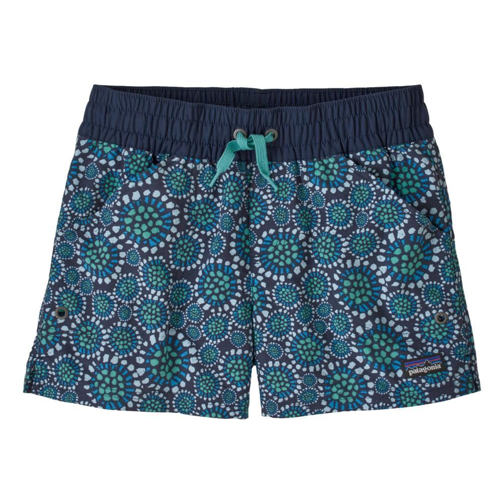 Patagonia Girls Costa Rica Baggies Shorts NAVY_TBNE