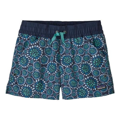 Patagonia Girls Costa Rica Baggies Shorts Navy_tbne