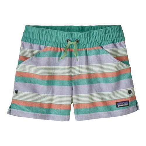 Patagonia Girls Costa Rica Baggies Shorts Stripe_ftba