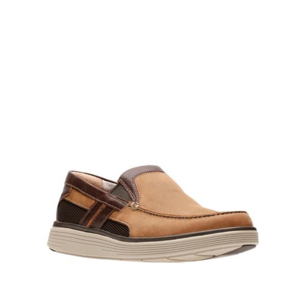 Clarks Men's Un Abode Free Slip On Shoes LIGHTTNLTH