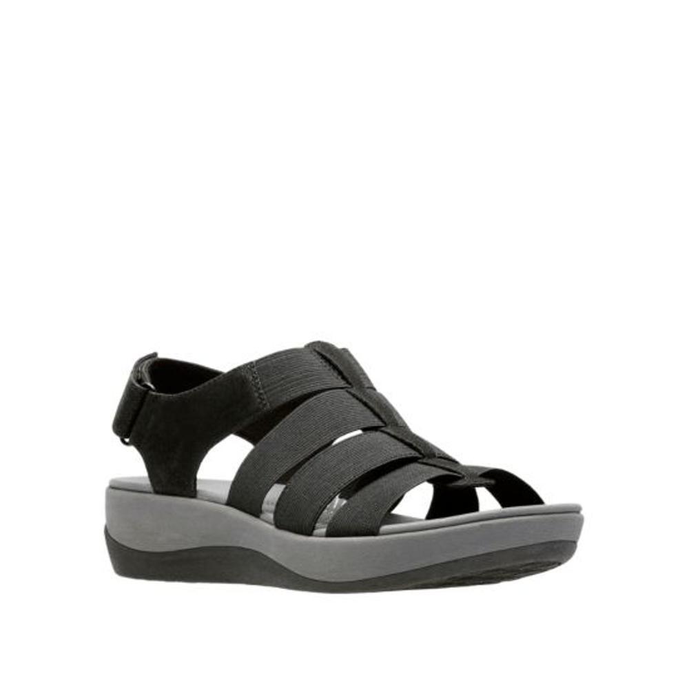 Clarks Women's Arla Shaylie Sandals BLACK