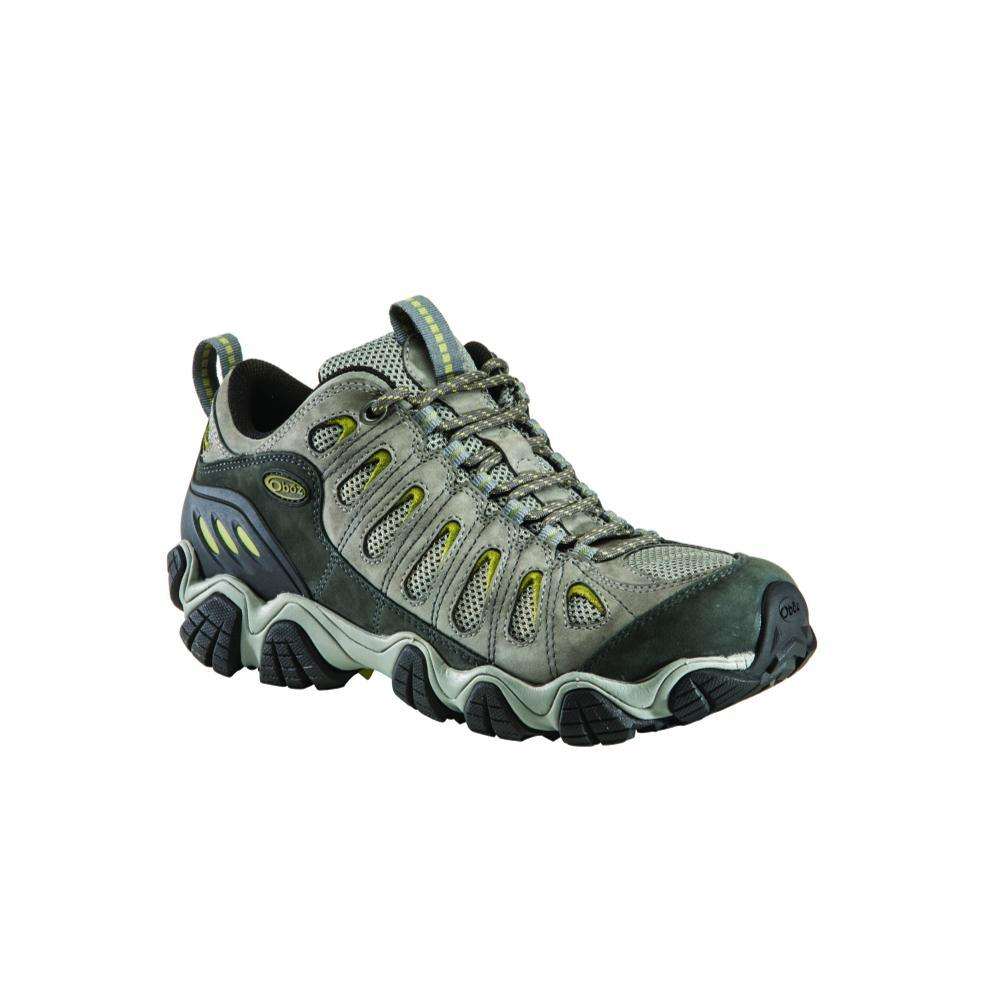 Oboz Men's Sawtooth Low Wide Shoes PEWTER