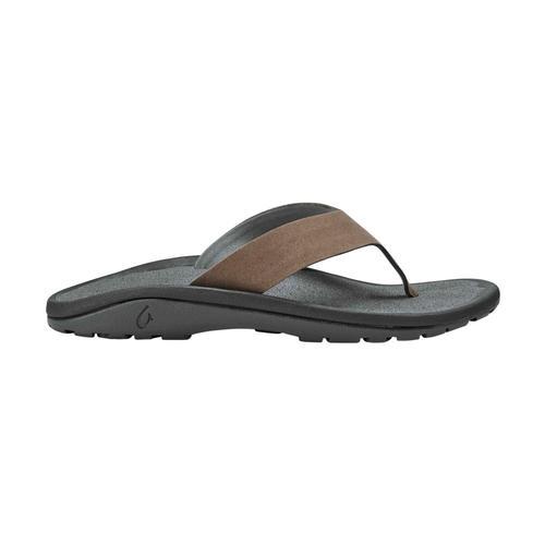 OluKai Men's 'Ohana Ho'okahi Sandals Mstg.Char